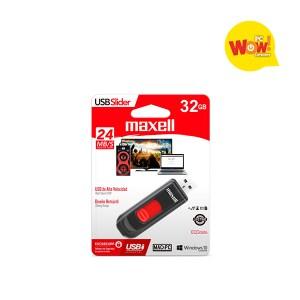 Pendrive USB Slider Maxell 32gb