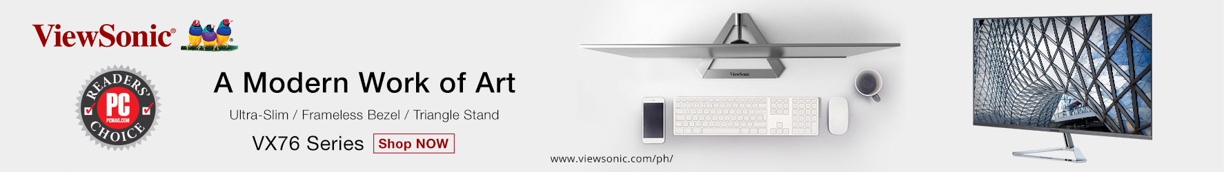 ViewSonic VX3276-2K-MHD 32″ 1440p Entertainment Monitor