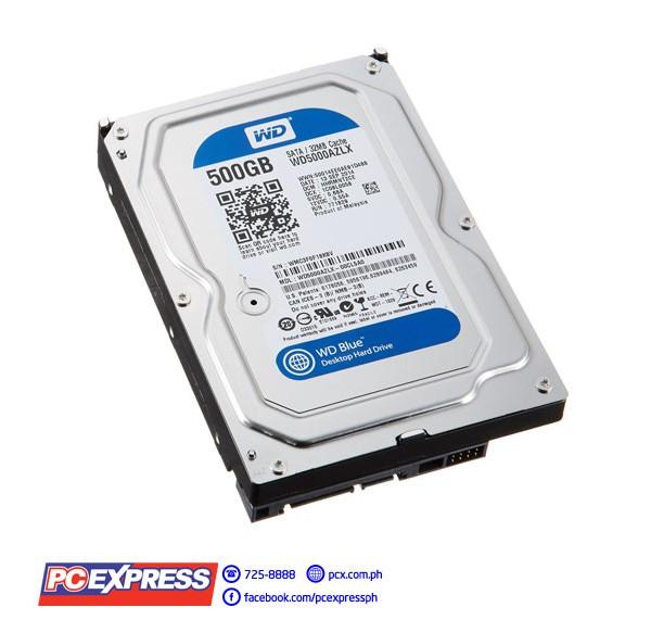 WESTERN DIGITAL 500GB SATA 7200RPM 32MB CACHE CAVIAR BLUE HARD DRIVE