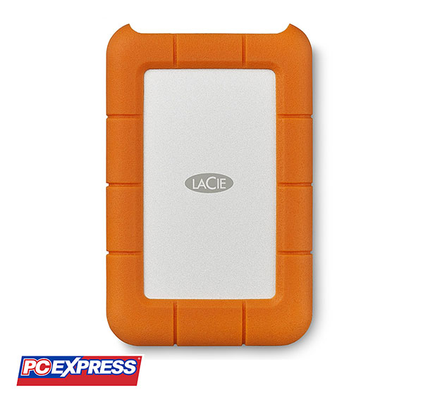 LaCie Rugged 2TB USB-C and USB 3.0