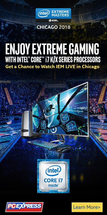 GET A CHANCE TO WATCH INTEL® EXTREME MASTERS LIVE IN CHICAGO!