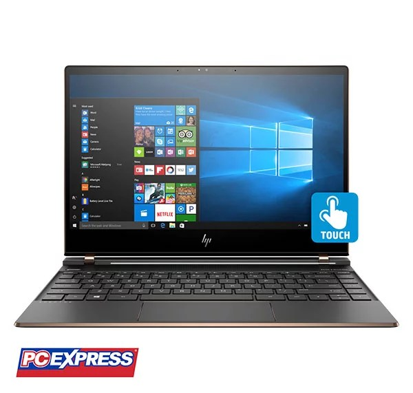 "HP Spectre 13-v104tu (X9K41PA) Intel Core i7 13.3"" Windows 10 Laptop (DARK ASH SILVER)"