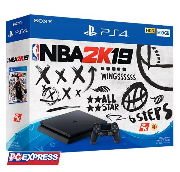 PlayStation 4 NBA2K19 Bundle Pack
