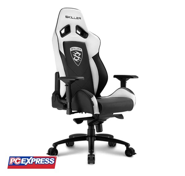 Excellent Sharkoon Skiller Sgs3 Gaming Chair Black White Pc Express Unemploymentrelief Wooden Chair Designs For Living Room Unemploymentrelieforg