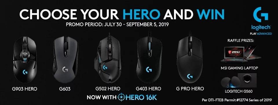 Logitech: Choose your Hero | PC Express