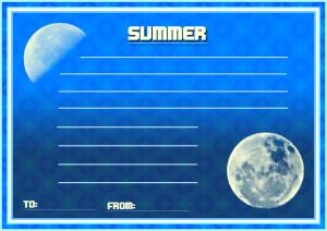 夏メッセージカード5