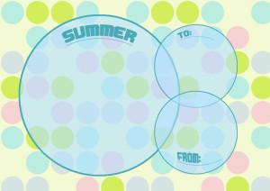 夏メッセージカード4