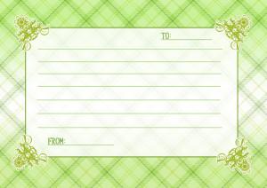 メッセージカード4