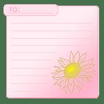 向日葵のカード3