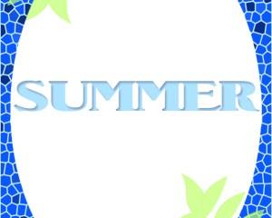 夏のメッセージカード