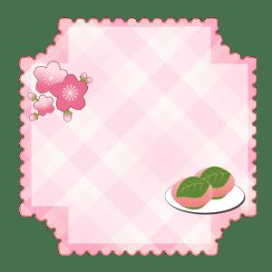 桃のラベル