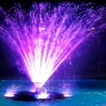 Fuente de Agua Flotante Abanico Multijet