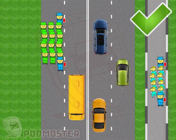 Группы детей разрешается водить только. Правила дорожного движения непропуск пешеходов колонны детей