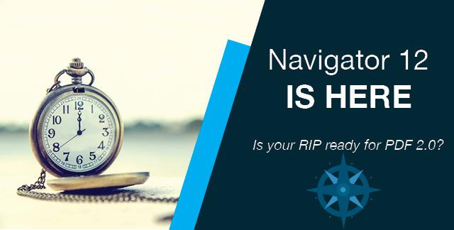Navigator v12 Harlequin RIP & Workflow – bereit für PDF 2.0