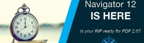 Navigator v12 Harlequin RIP & Workflow - bereit für PDF 2.0