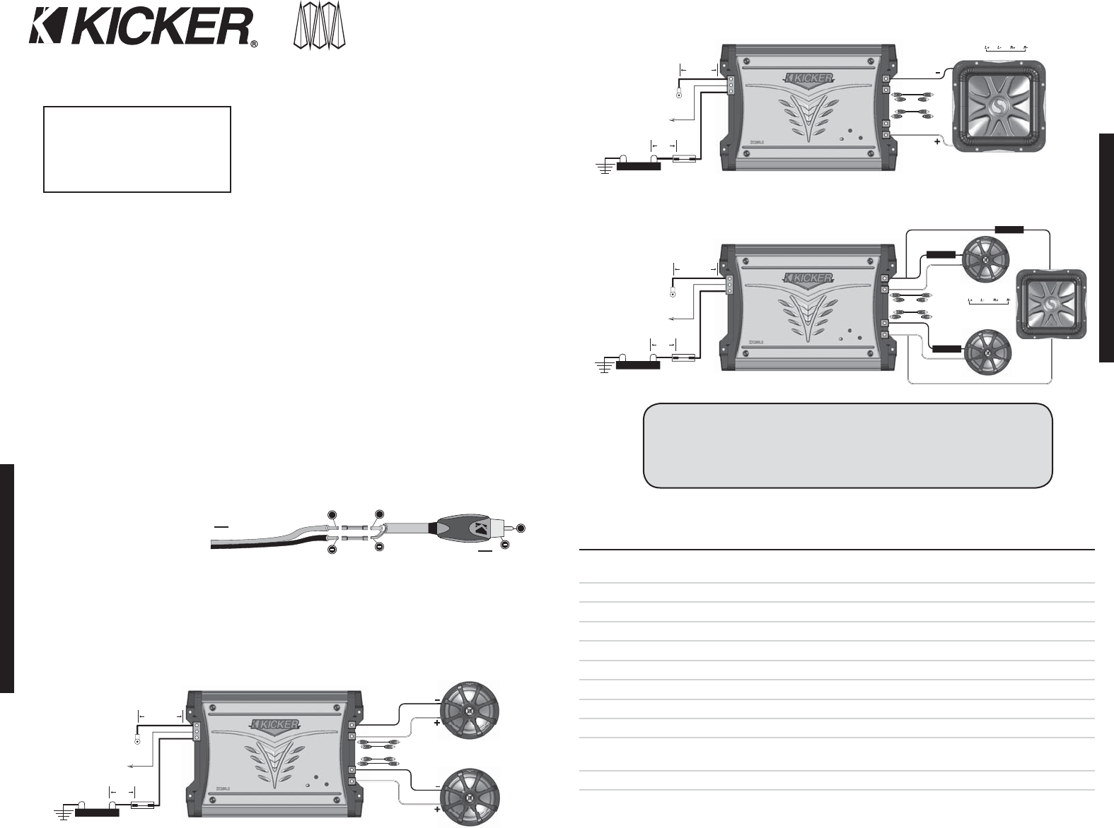 Kicker Cx 1 Wiring Diagram