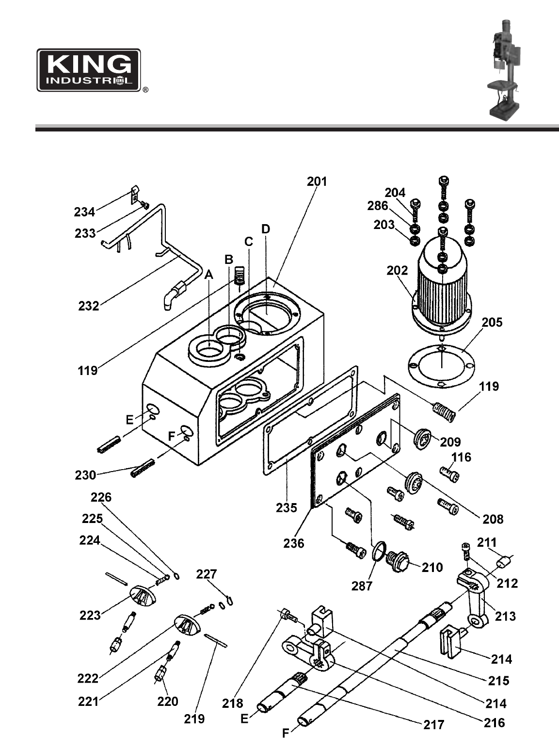 Page 3 Of King Canada Drill Kc 50 User Guide