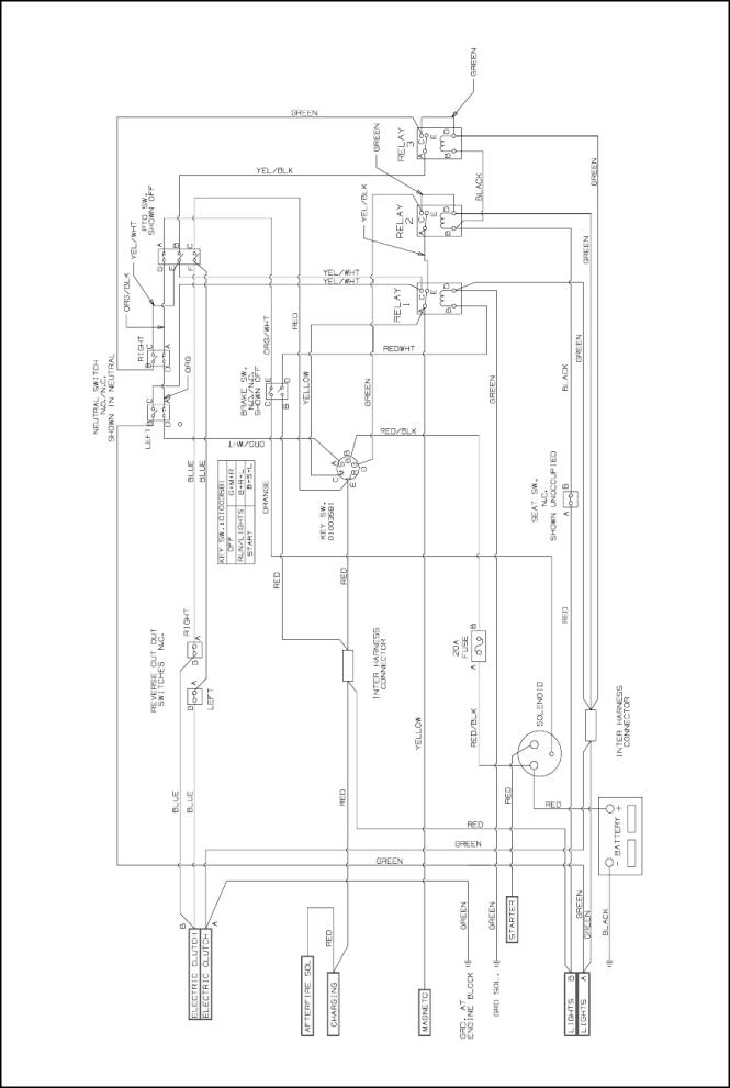 cub cadet wiring diagram lt1045 - wiring diagram, Wiring diagram