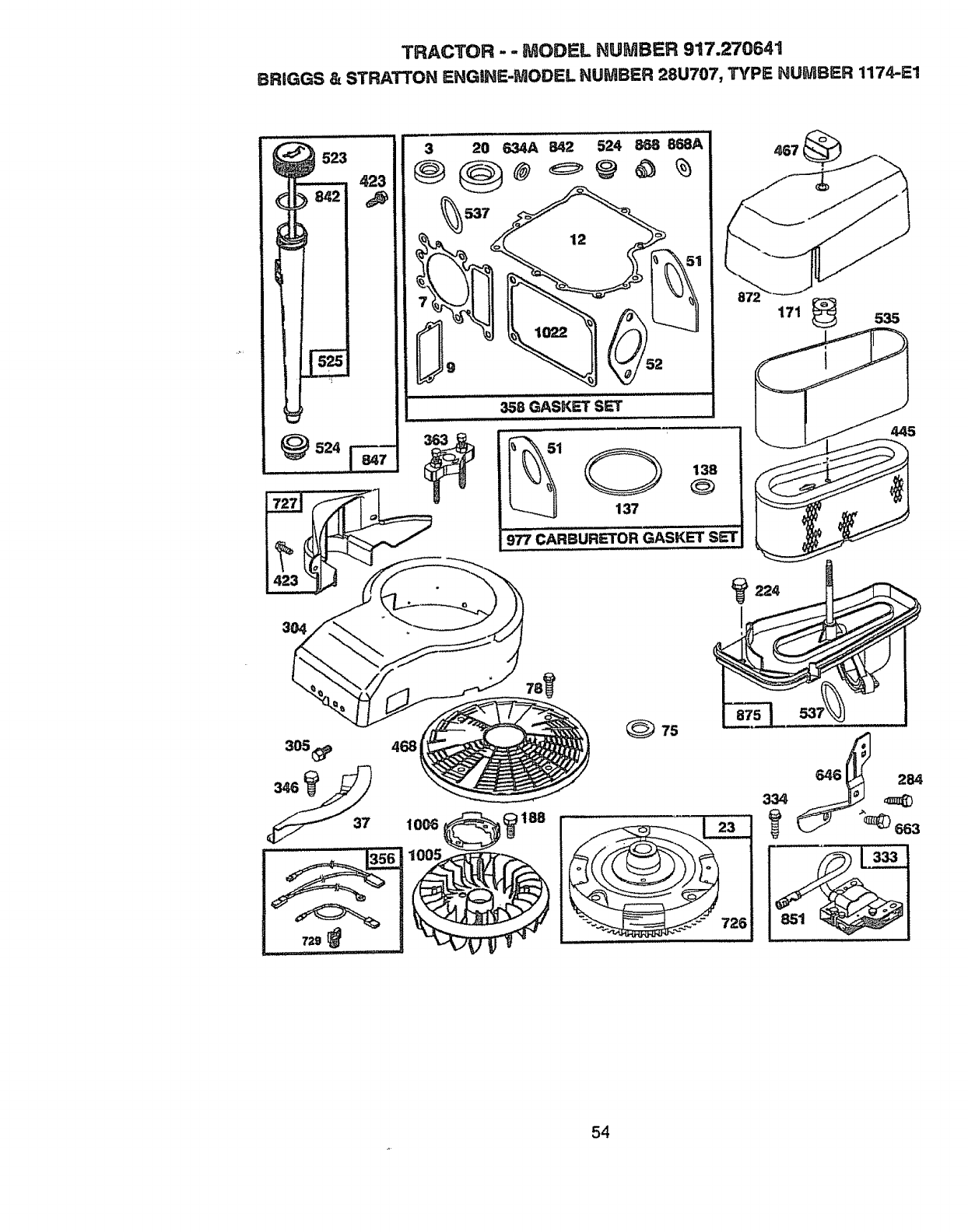Page 54 Of Craftsman Lawn Mower User Guide