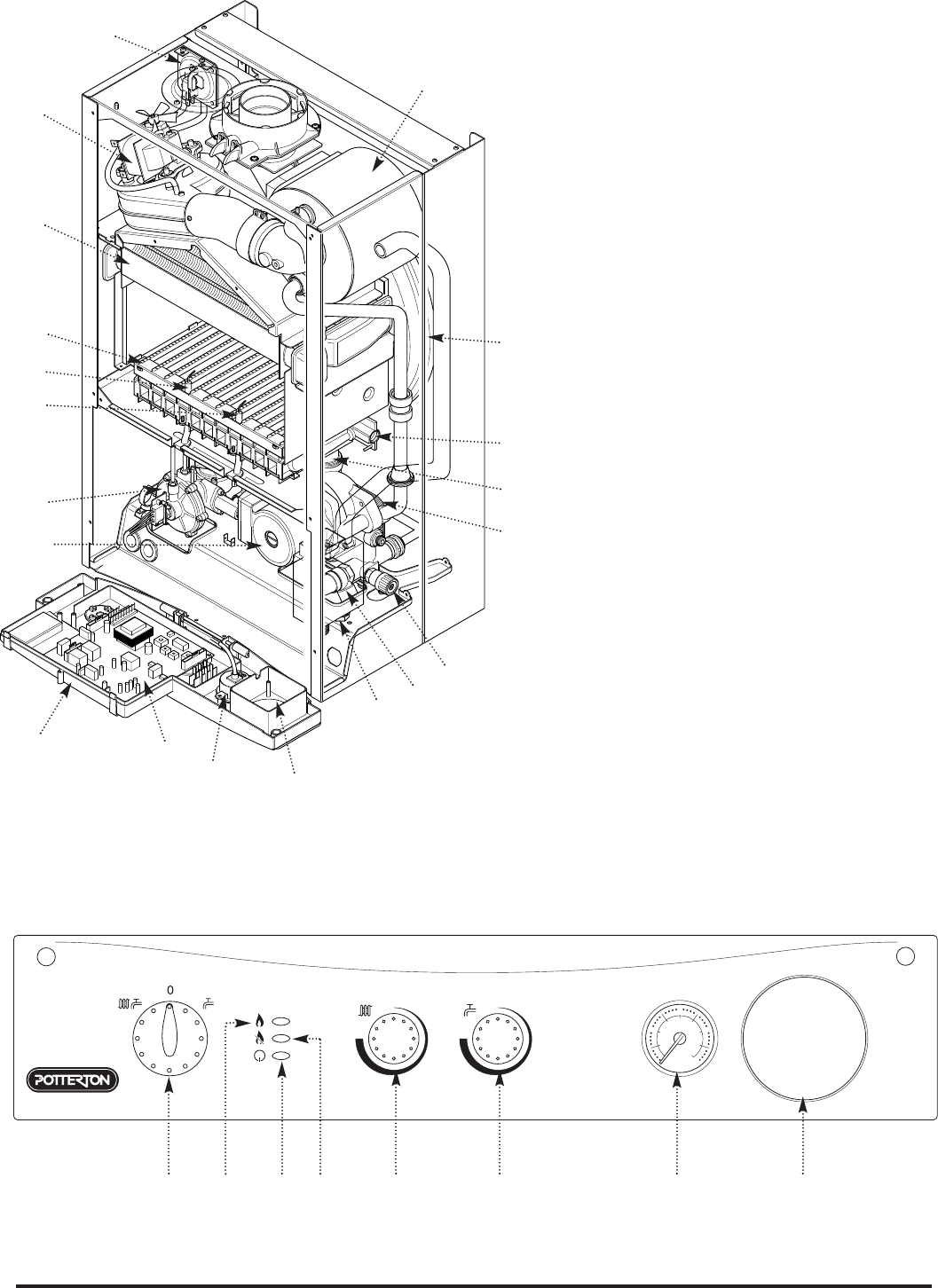 Page 6 Of Baxi Potterton Boiler 24 Eco He User Guide