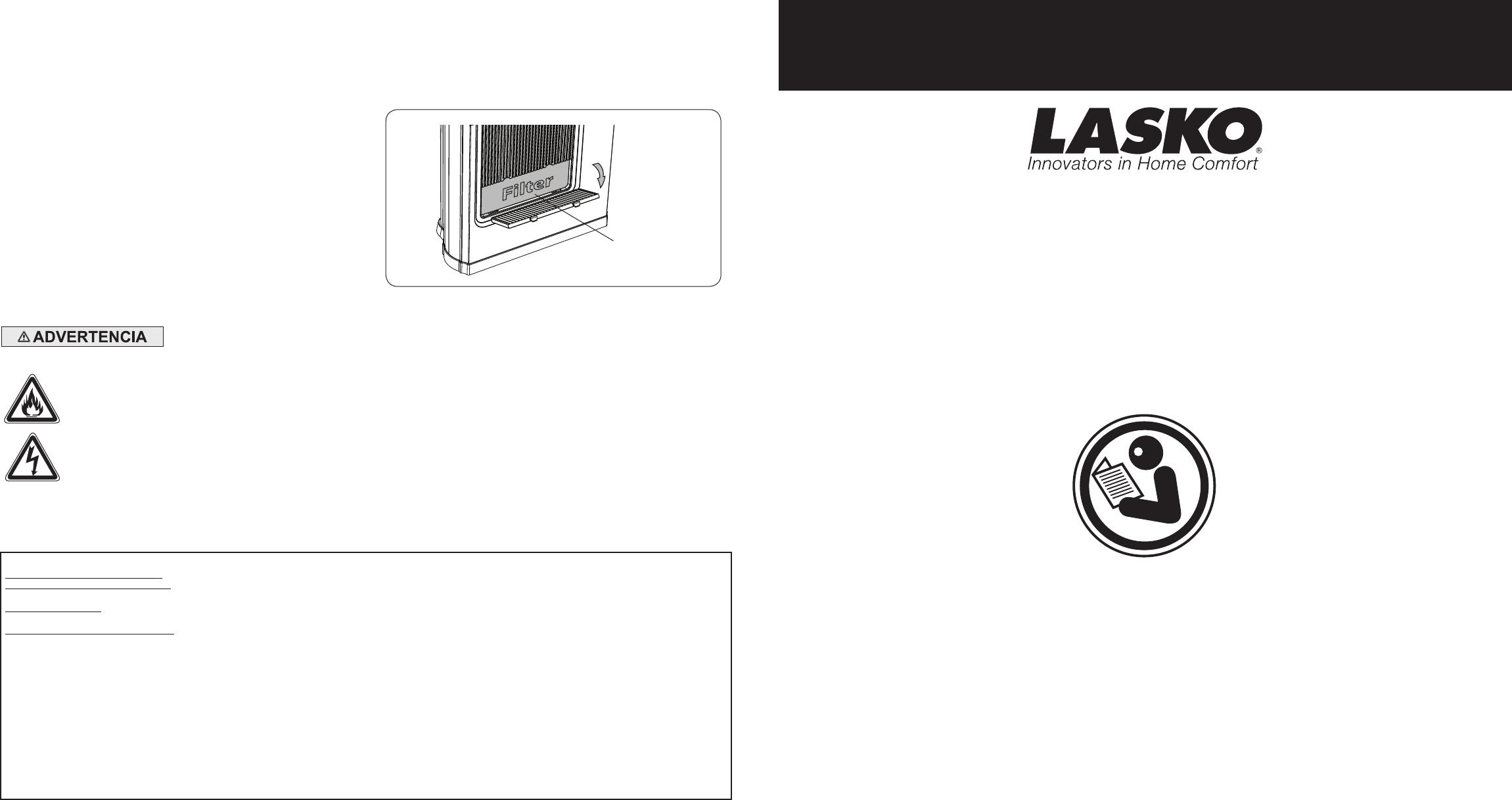 Lasko Electric Heater User Guide
