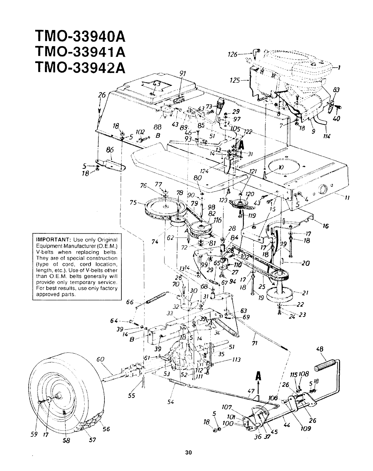 Page 30 Of Montgomery Ward Lawn Mower Tmo A User