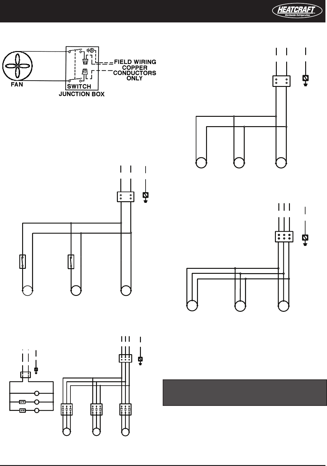 Heatcraft Evaporator Wiring Diagram Diagrams Schematics A Capacitor To 2 Amps Famous Bohn Gallery Electrical And Manual At Freezer