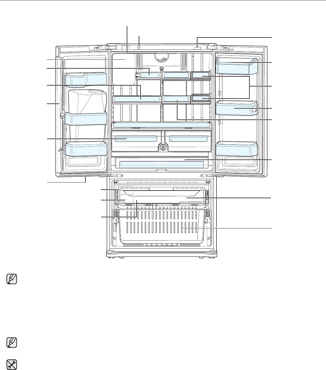 Page 16 Of Samsung Refrigerator Rfg298hd User Guide