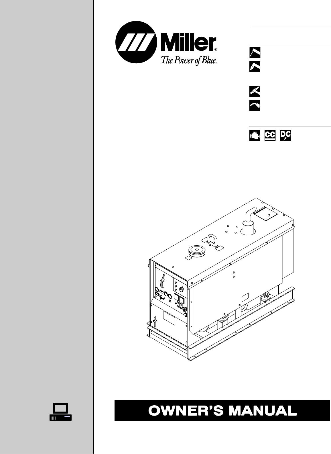 Miller Spot Welder Manual