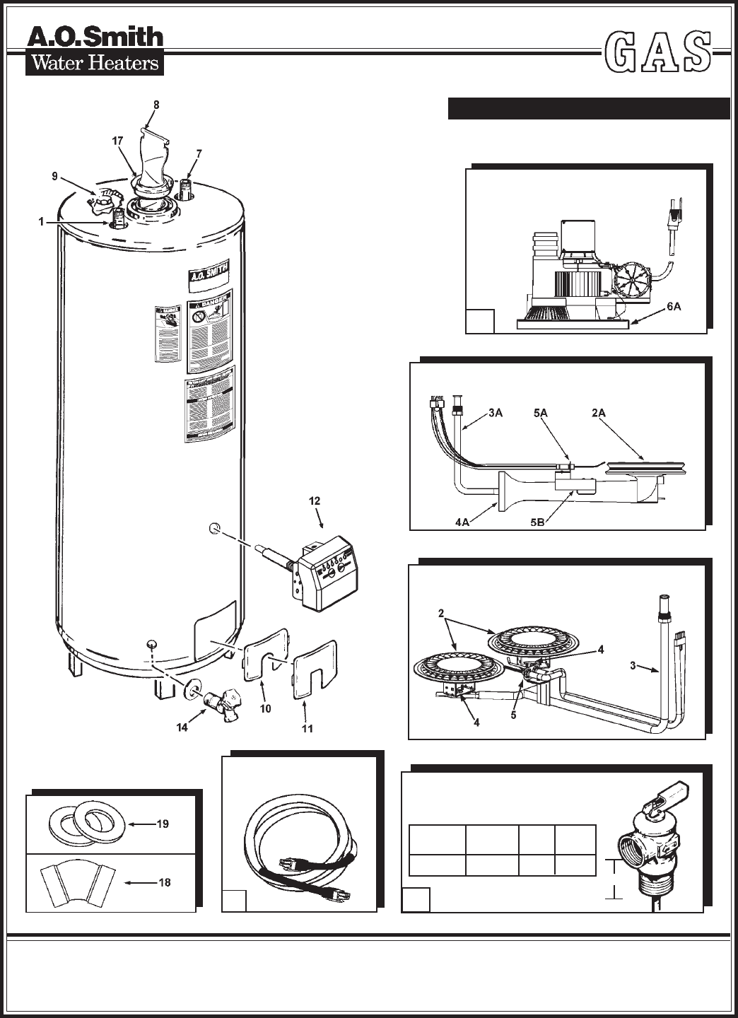 Parts For Ao Smith Water Heaters