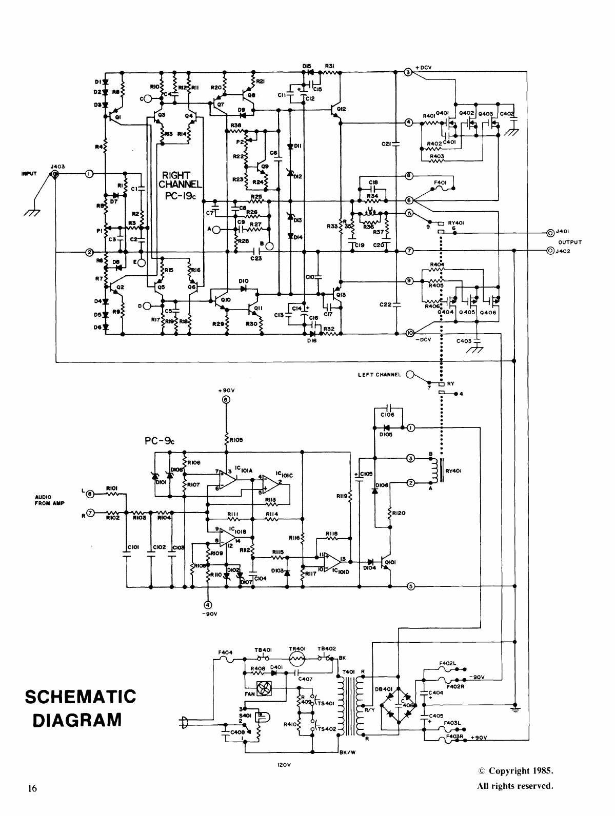 Page 16 Of Hafler Stereo Amplifier Dh 500 User Guide