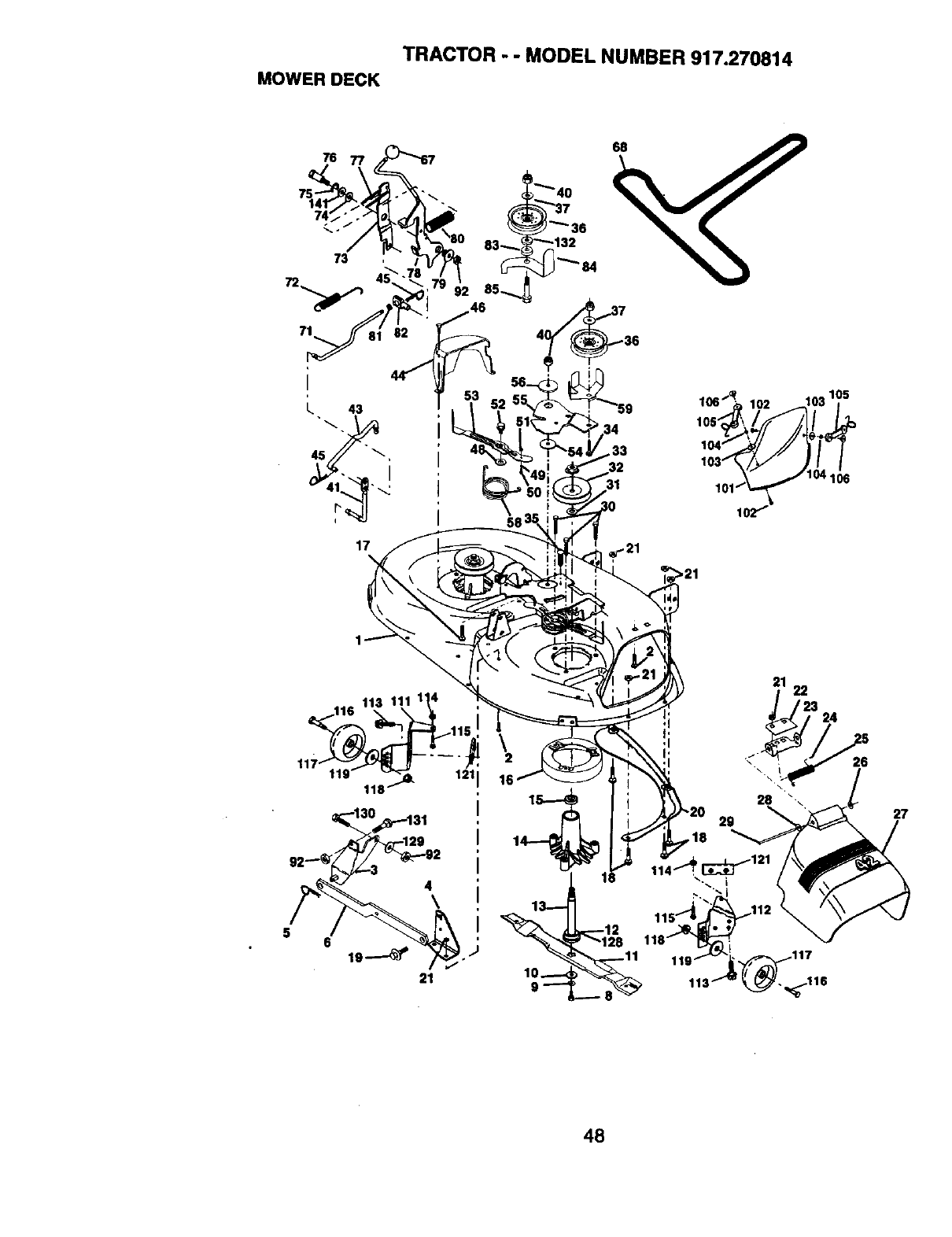 Page 48 Of Craftsman Lawn Mower 917 User Guide