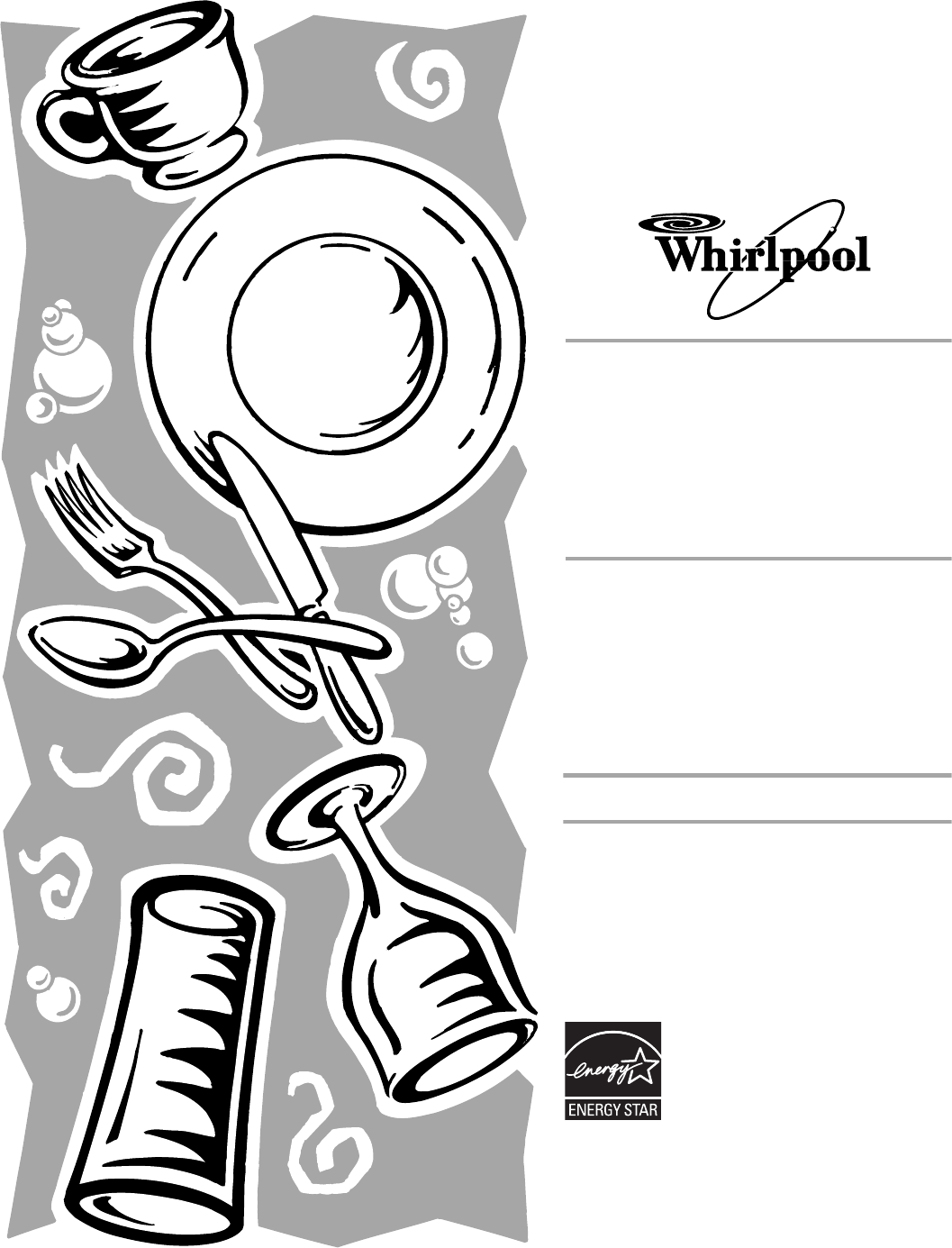 Whirlpool Dishwasher Du User Guide