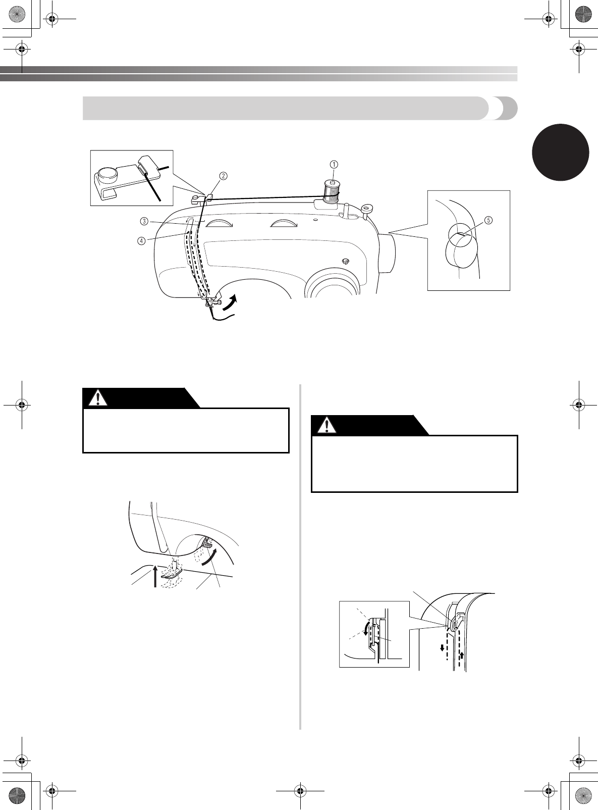 Page 23 Of Brother Sewing Machine Xl User Guide
