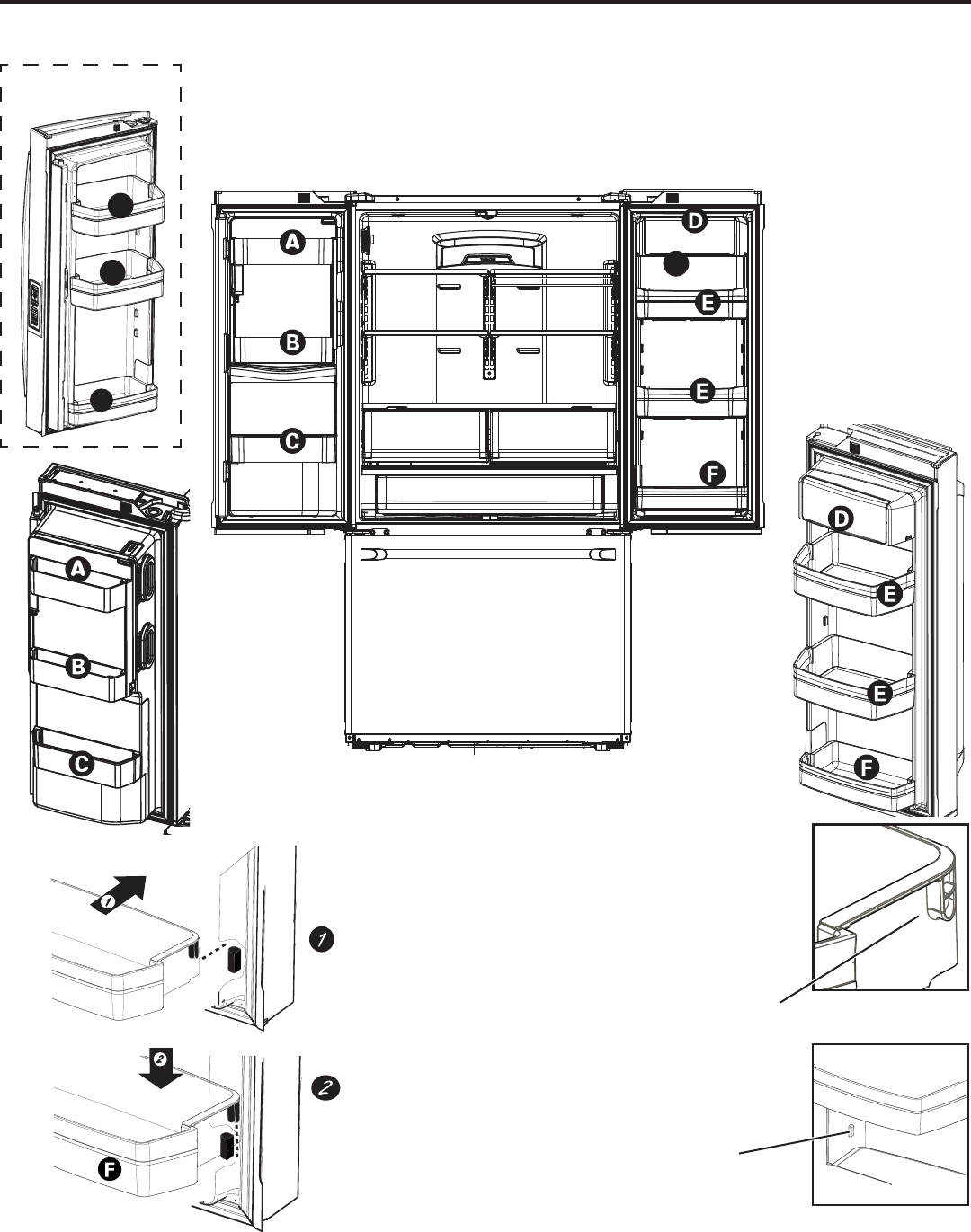 Page 83 Of Ge Refrigerator Cfe28tshss User Guide
