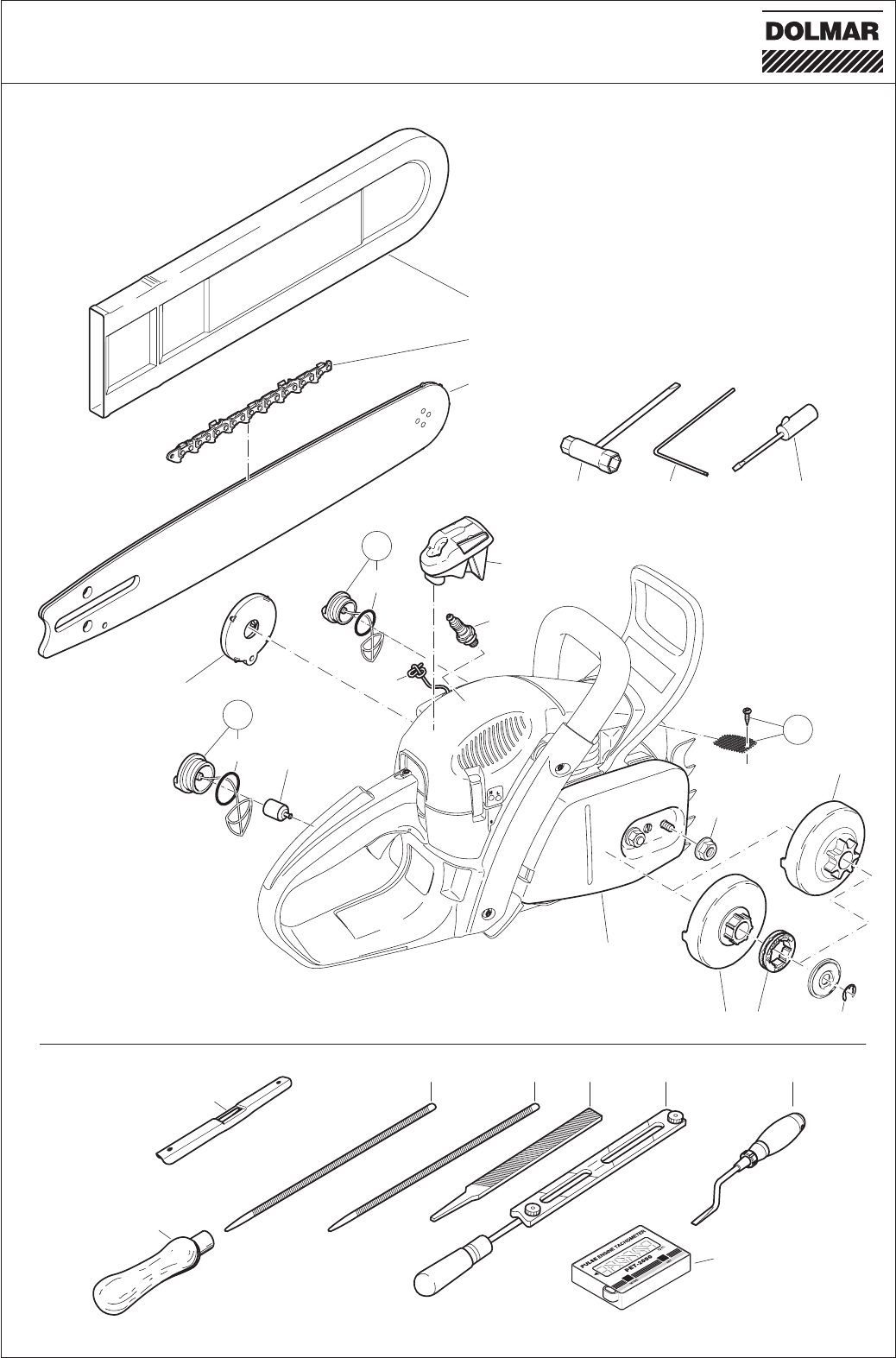 Page 38 Of Dolmar Chainsaw Ps 460 User Guide