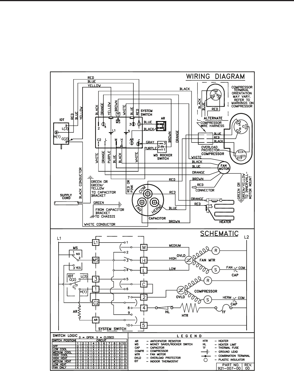 Page 56 Of Friedrich Air Conditioner User Guide