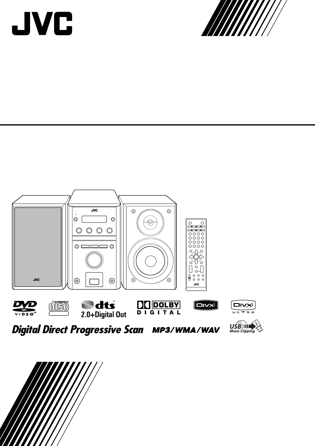 Jvc Stereo System Ux G500v User Guide