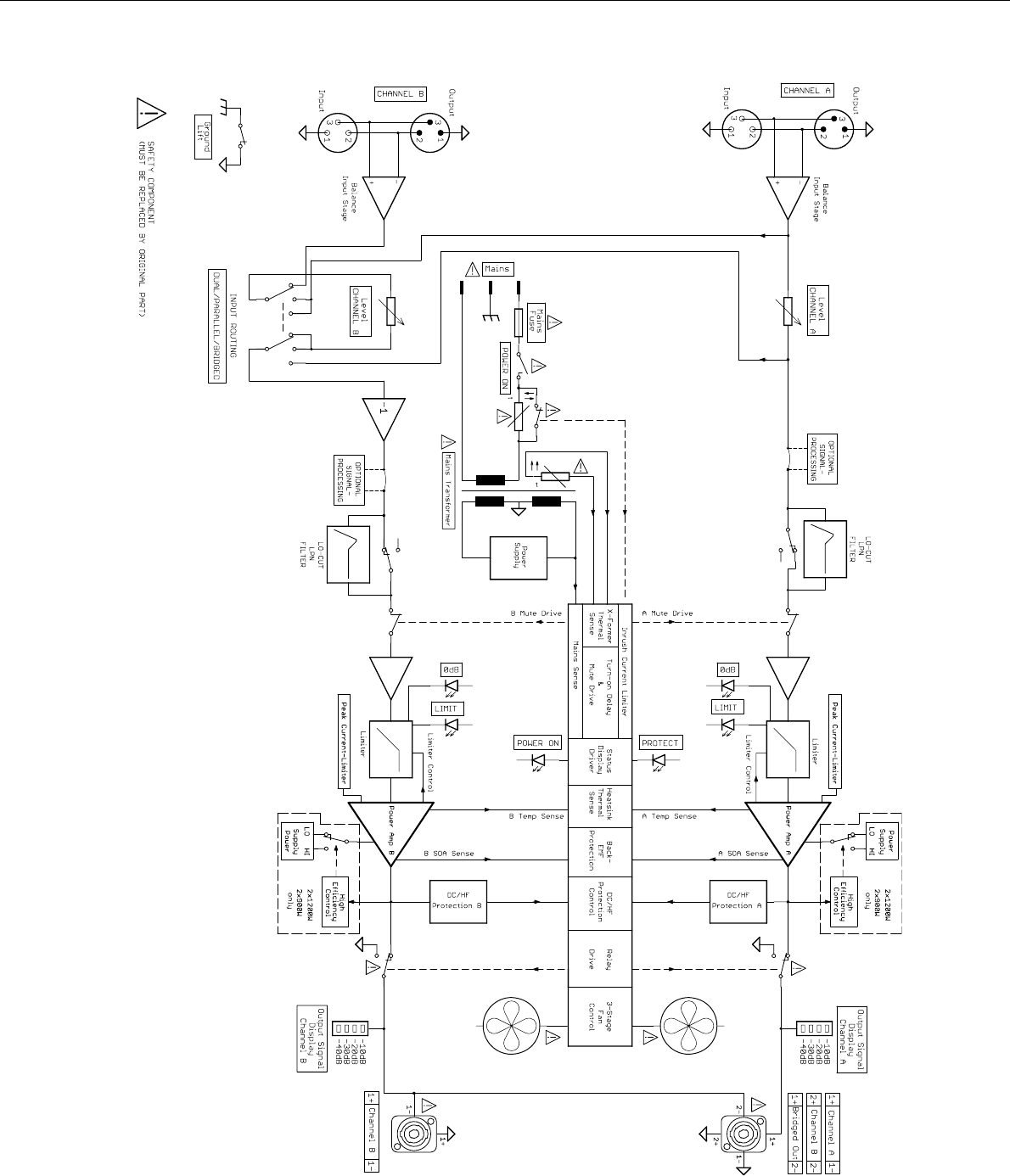 Array page 24 of electro voice stereo lifier q99 user guide