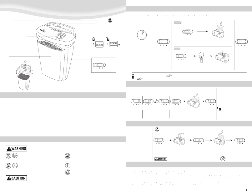 Page 2 Of Fellowes Paper Shredder W11c