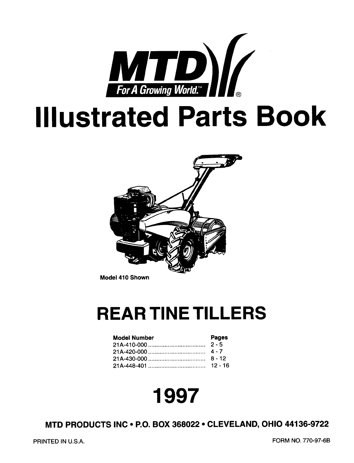 Troy Bilt Pony Tiller Parts Diagram Html