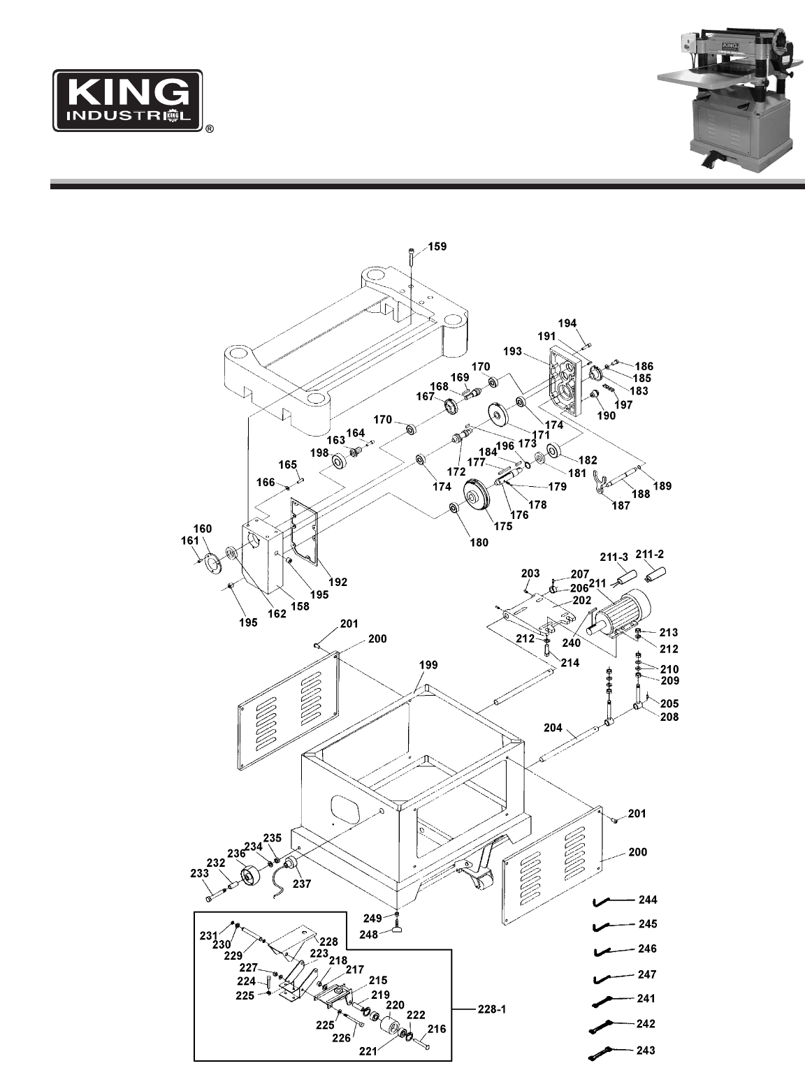 Page 3 Of King Canada Planer Kc 520c User Guide