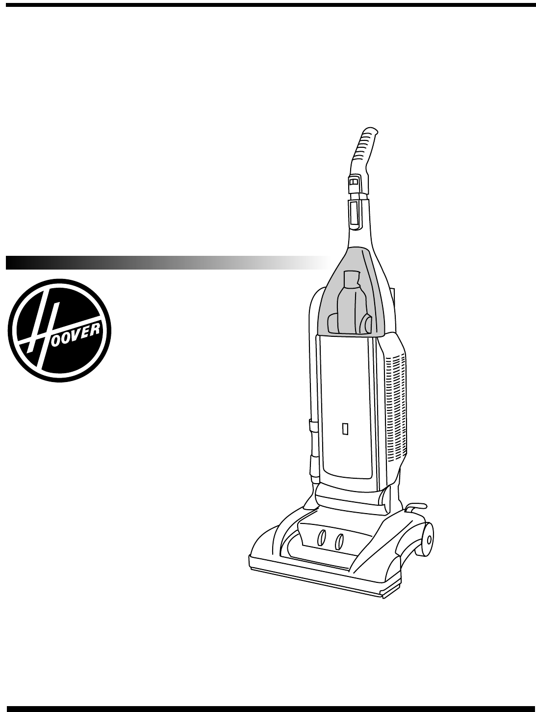 Hoover Vacuum Cleaner Uh User Guide