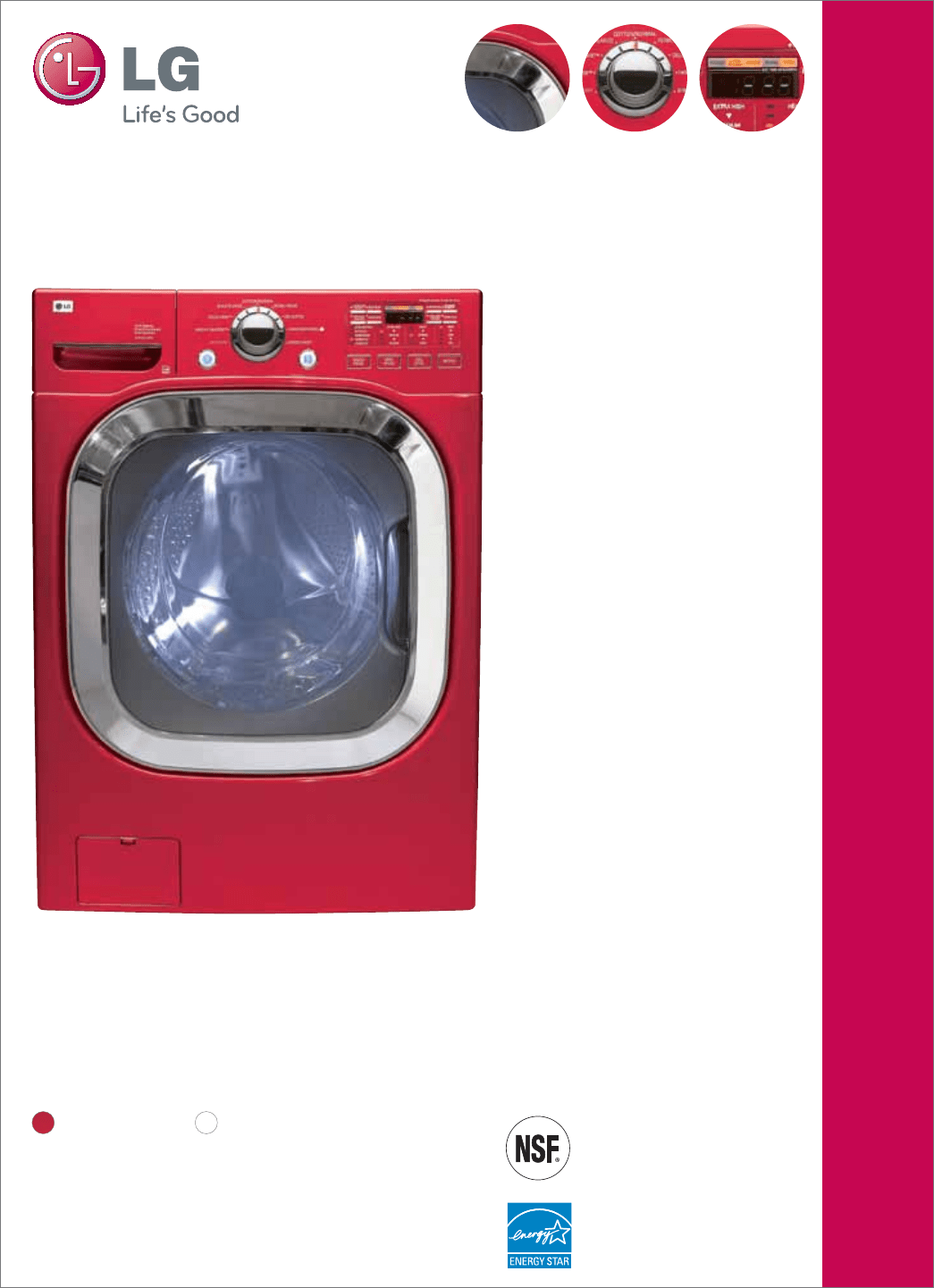 Lg Electronics Washer Wm Hr User Guide