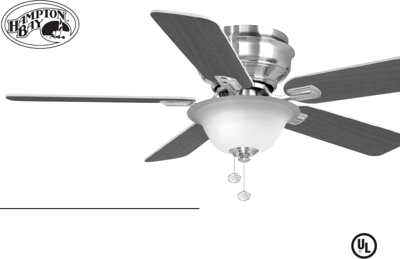 Hampton bay ceiling fan remote owner s manual integralbook hampton bay outdoor ceiling fan 122 135 user guide manualsonline com sciox Images