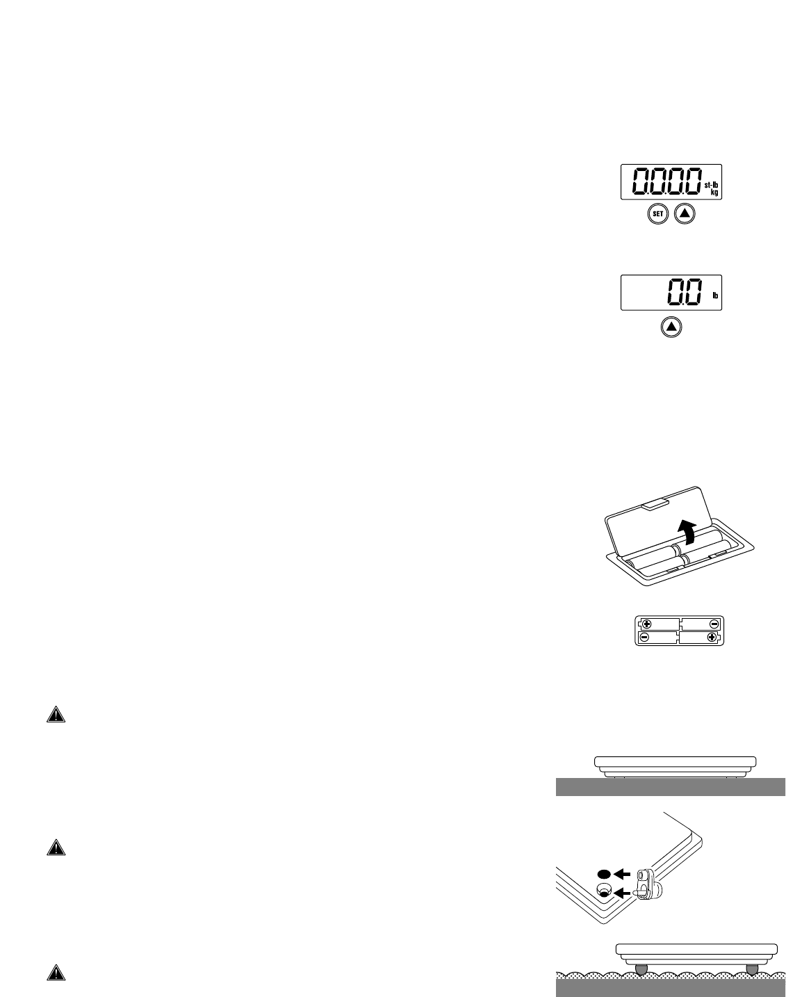 Page 5 Of Tanita Scale User Guide