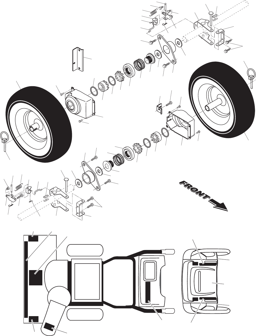 Page 30 Of Poulan Snow Blower User Guide