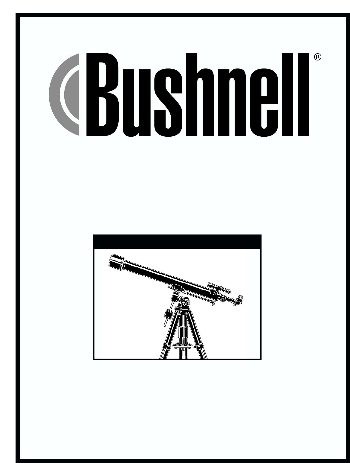 Bushnell Telescope 78 User Guide