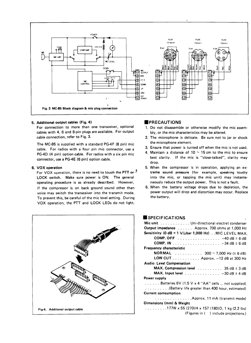 Array page 3 of kenwood microphone mc 85 user guide manualsonline rh music manualsonline
