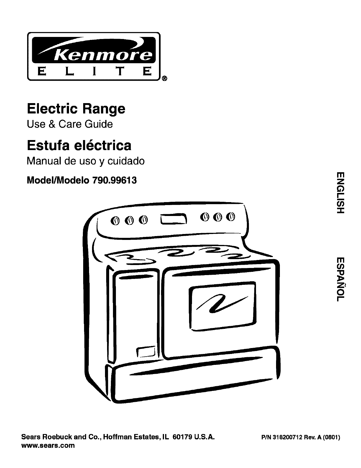 Kenmore Oven Kenmore Oven User Manual